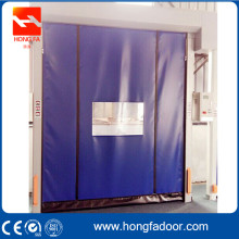 Self repairing PVC Curtain High Speed Rolling Door
