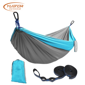 210T Parachute Fabric Outdoor Double color Camping Hammock