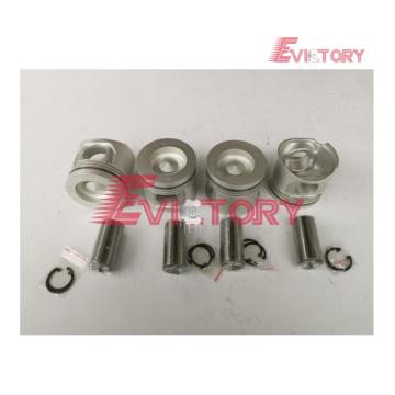 Excavator parts D5E piston connecting rod crankshaft