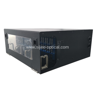 4RU 144 Port Fiber Optic Rack Mount Panel Enclosure
