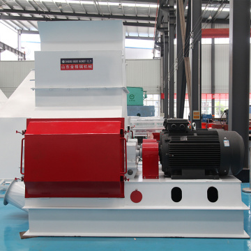 Whole Saw Dust Hammer Mill with Dust Collector