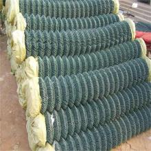 10ft green chain link fence roll