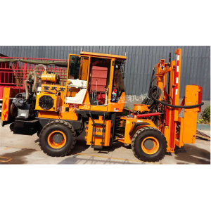 Piston Type Highway Guardrail drilling rig