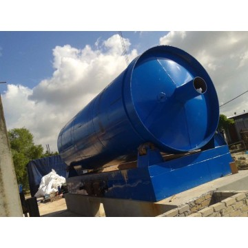 waste tyre pyrolysis to fuel oil equipment
