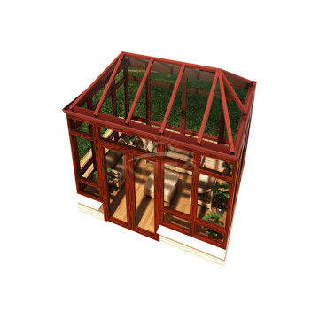 Room Prefabricated Glass Garden House