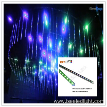 DMX LED video tube 3d tubes