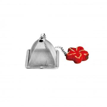 tea strainer with chain