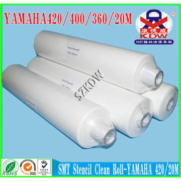 China Top 10 for China SMT Stencil Cleaning Paper Roll,Dust Free Clean Rolls,MPM Clean Paper Rolls Manufacturer and Supplier Yamaha Solder Paste Printer Clean Rolls export to Turkmenistan Factory