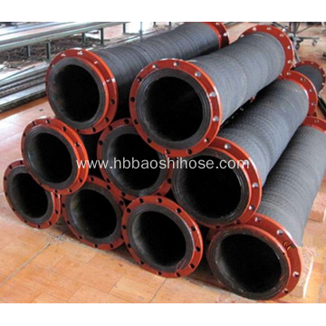 Common Flexible Flanged Mud Discharge Hose