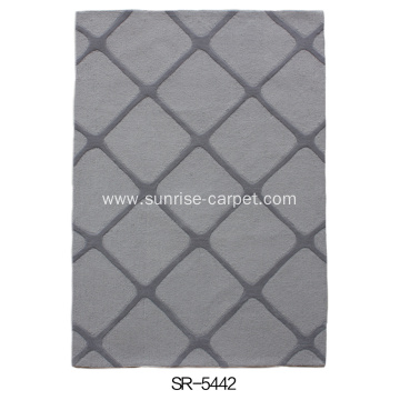 Hand Tufted Carved Fashion Design Carpet