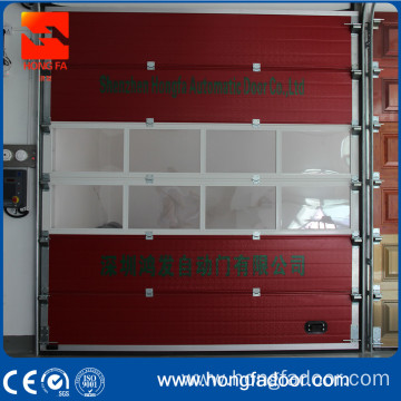 Feuersstatioun overhead Sectional Door