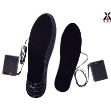 Heated Shoe Insole with Rechargeable Battery Pack
