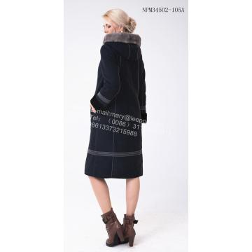 Long Women Australia Merino Shearling Coat