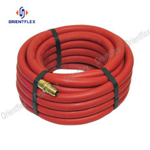Red color acetylene gas hose