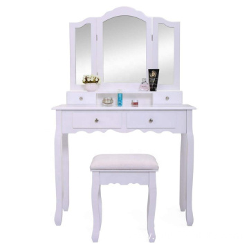 Furniture Vanity Modern Dressing Table with Mirrors