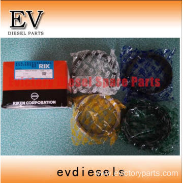 HINO engine parts piston EP100T piston ring