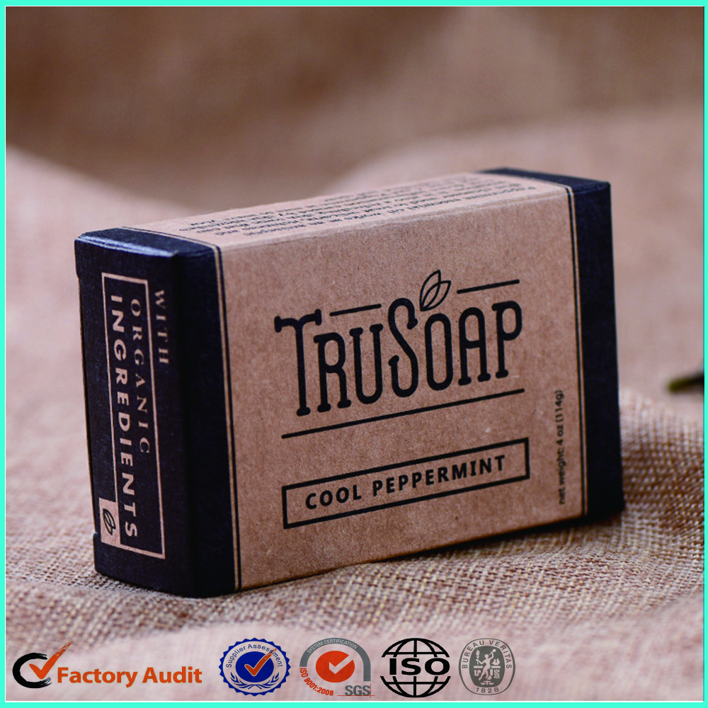 Handmade Craft Carton Soap Packaging Box