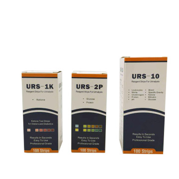 MDK Urine Glucose and Protein Test strips