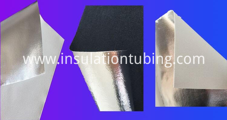 Anti Corrosion Fireproof Aluminum Foil Fiber Glass Cloth