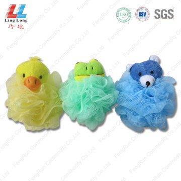 Animal mesh attract bath ball