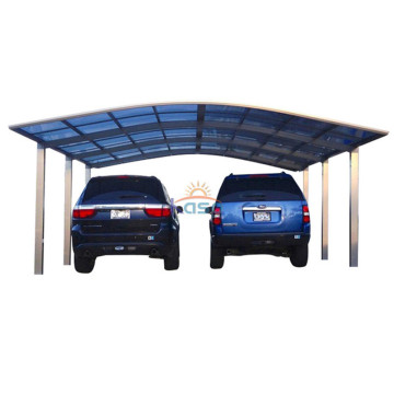 Aluminum Double Carport Parking Canopies Car Canopy