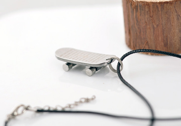 Titanium Steel Pendant Man Necklace
