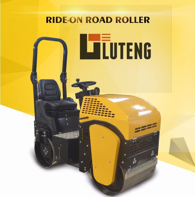 ride-on road roller