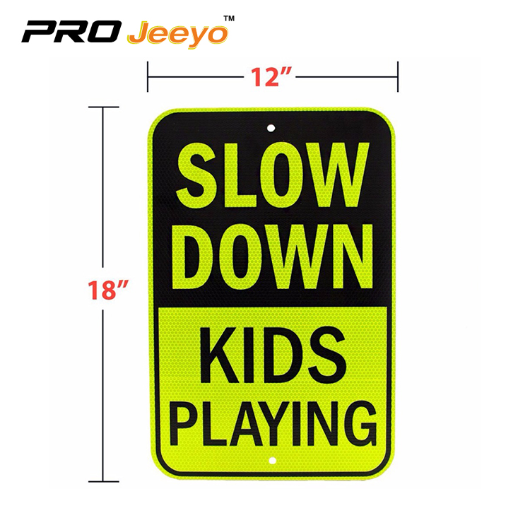 slow down sign 1