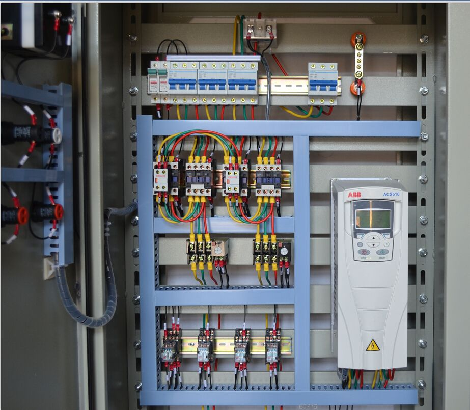 Automatic ABB frequency control cabinet