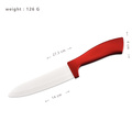 Profession ceramic kitchen knife set