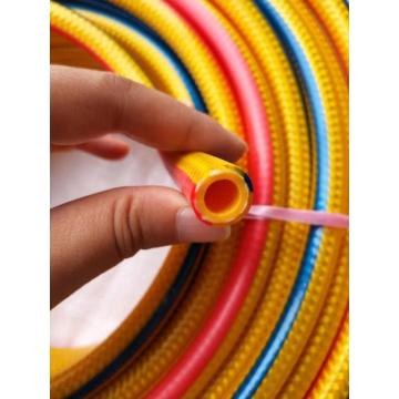 Colorful surface braided durable high pressure hose