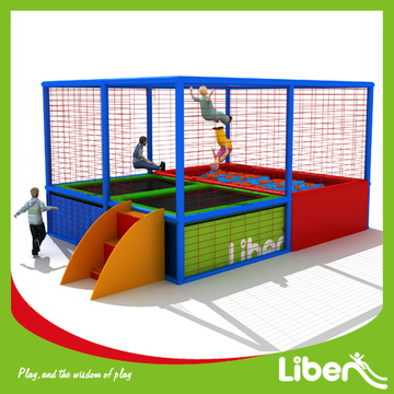 Children outdoor trampoline park