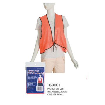 cheap plastic orange hunting safety vest Reflective