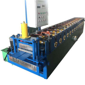 Metal wall siding roofing sheet roll forming machine