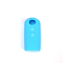 2 buttons Mazda silicone car key case