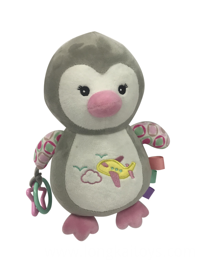 Penguin Rattle Toy