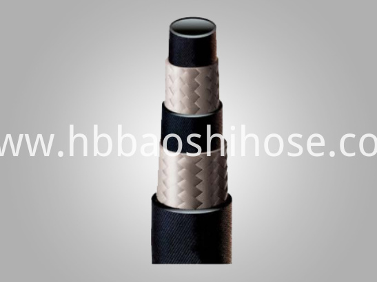 2-layer Rubber Pipe Fiber Braided