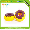 Food shape 3d donut rubber eraser