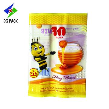Honey Plastic Pacakging Three Side Sealing Bag