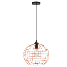 Modern Indoor Metal Round Ball Pendant Lamp