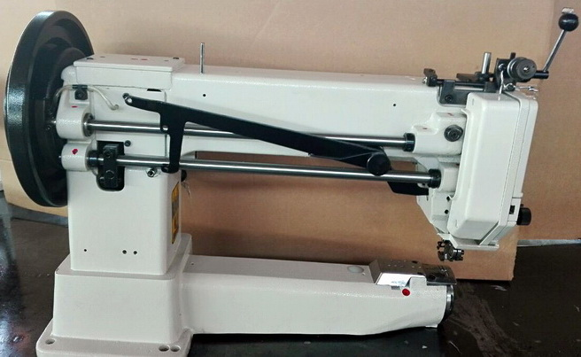 Cylinder Arm Extra Heavy Duty Walking Foot Upholstery Sewing Machine for Leather and Webbings