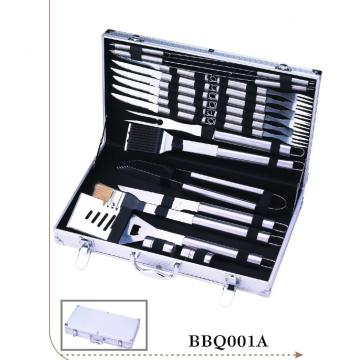 BBQ Grill Set Stainless Steel