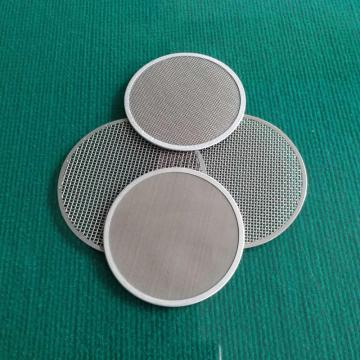 Wire mesh filter disc