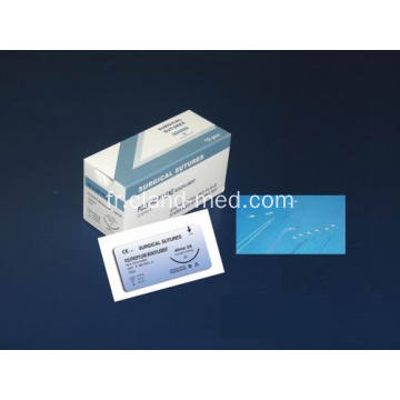 Suture de monofilament chirurgical non absorbable en polypropylène