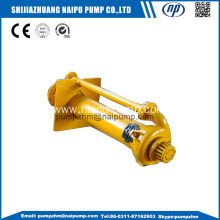 vertical open impeller slurry pumps