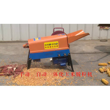 1800Kg/Hr Electronic Corn Kernel Removing Machine