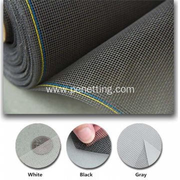 Plastic Coated Fiberglass Invisible Window Insect Screen