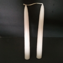 10inch hand dipped Linked taper candle