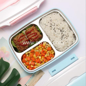 Household 304 stainless steel lunch box