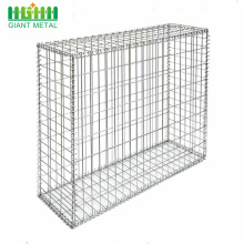 Heavy Galvanized Woven Gabion Basket Gabion Fence Wall